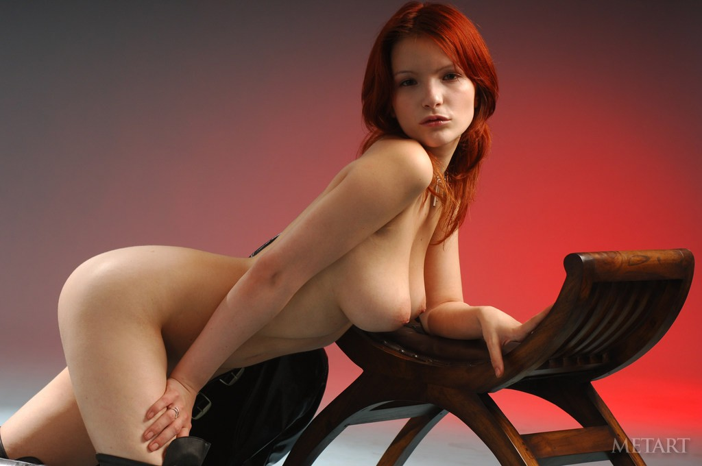 redheads and boots